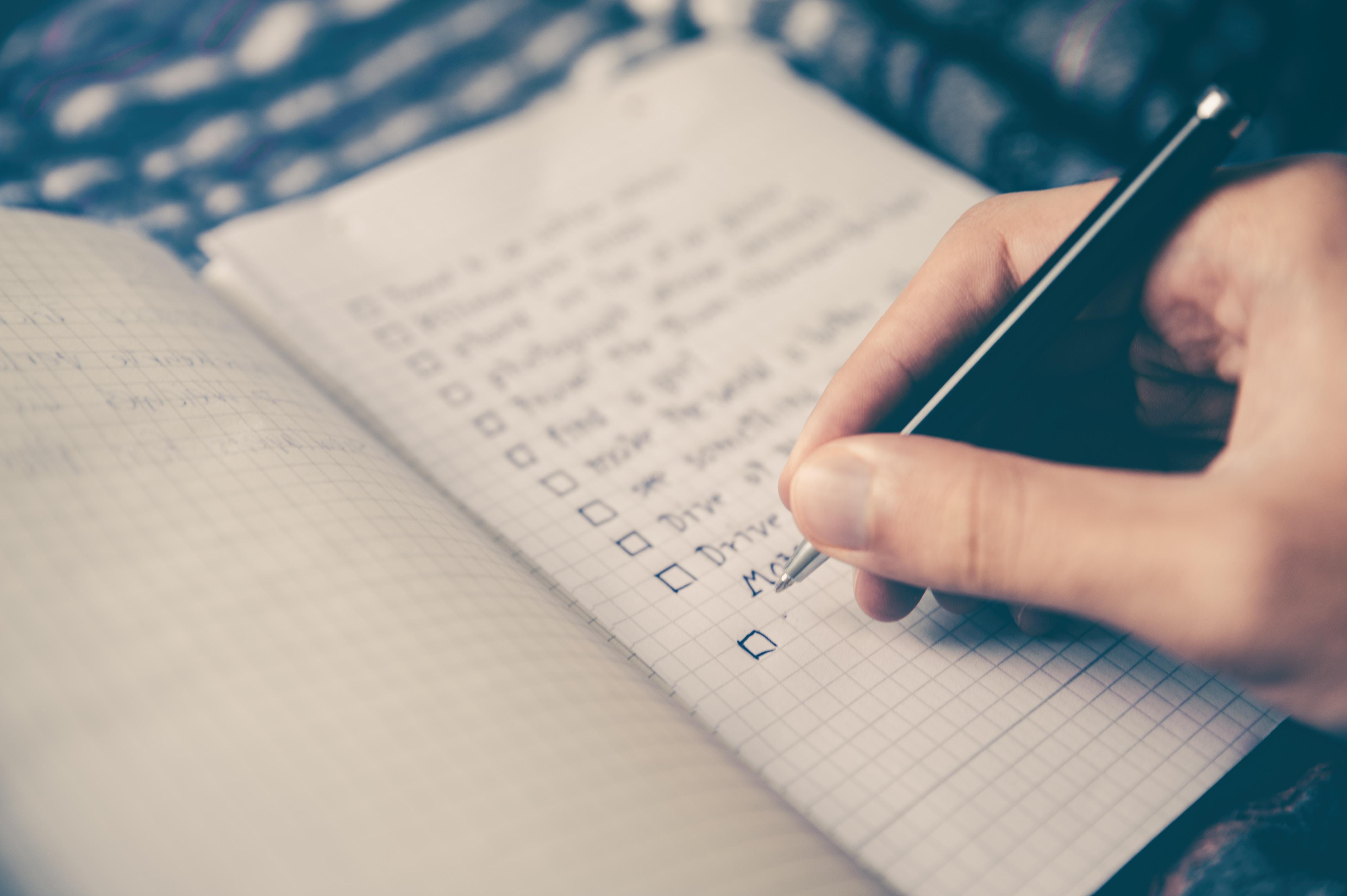 Checklist - Puckett and Sturgill Financial Group